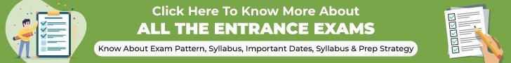 Entrance exam information