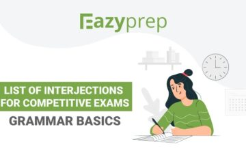 Interjections for Competitive Exams