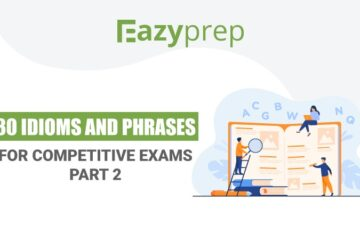 Idioms and phrases for competitive exams
